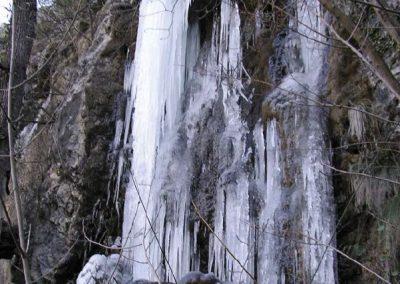 Cascada gelada
