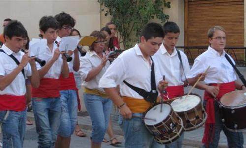 Alfafara celebra les festes en honor a Santa Cecília